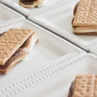 Cold and Chewy Oven Baked S'Mores