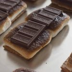 Cold and Chewy Oven-Baked S'Mores