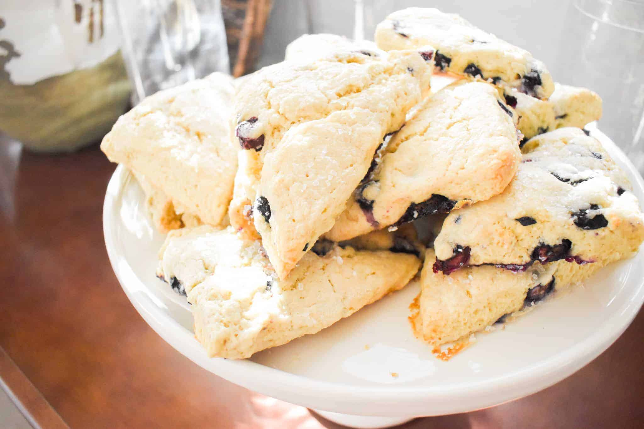 Classic Blueberry Scones